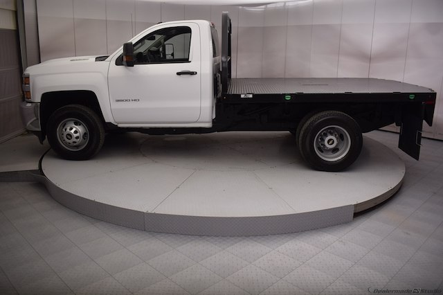2017 Silverado 3500 Regular Cab DRW 4x4,  Knapheide Platform Body #C171568 - photo 22