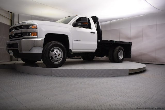 2017 Silverado 3500 Regular Cab DRW 4x4,  Knapheide Platform Body #C171568 - photo 25