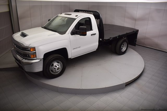 2017 Silverado 3500 Regular Cab DRW 4x4,  Knapheide Platform Body #C171568 - photo 27