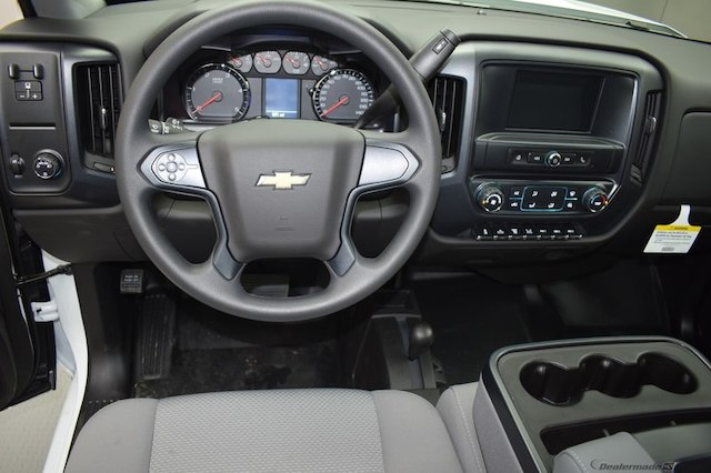 2017 Silverado 3500 Regular Cab DRW 4x4,  Knapheide Platform Body #C171568 - photo 6