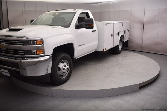 2018 Silverado 3500 Regular Cab DRW 4x4,  Reading Service Body #C180411 - photo 22