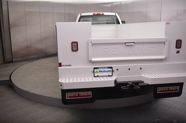 2018 Silverado 3500 Regular Cab DRW 4x4, Reading SL Service Body #C180411 - photo 28