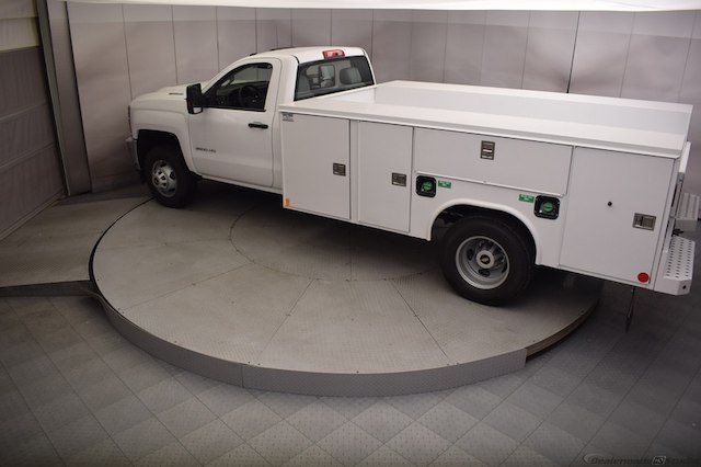 2018 Silverado 3500 Regular Cab DRW 4x4, Reading SL Service Body #C180411 - photo 29