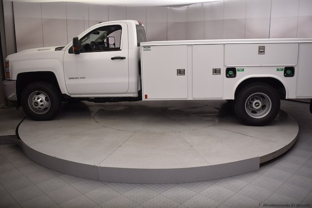 2018 Silverado 3500 Regular Cab DRW 4x4,  Reading Service Body #C180411 - photo 28