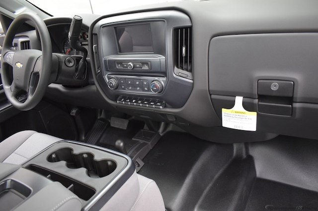 2018 Silverado 3500 Regular Cab DRW 4x4,  Reading Service Body #C180411 - photo 10