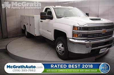 2018 Silverado 3500 Regular Cab DRW 4x4, Reading SL Service Body #C180411 - photo 1
