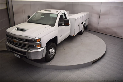 2018 Silverado 3500 Regular Cab DRW 4x4, Reading SL Service Body #C180411 - photo 31