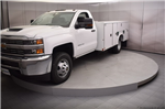 2018 Silverado 3500 Regular Cab DRW 4x4, Reading SL Service Body #C180411 - photo 25