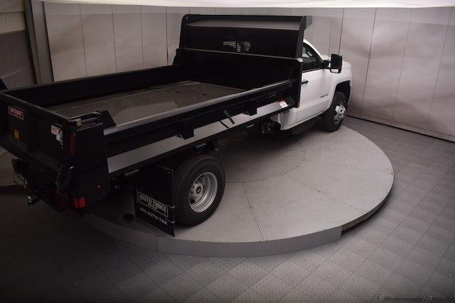2018 Silverado 3500 Regular Cab DRW 4x4,  Dump Body #C180430 - photo 2