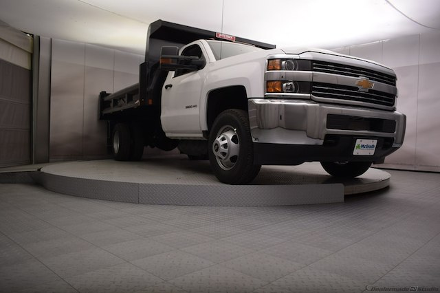 2018 Silverado 3500 Regular Cab DRW 4x4,  Dump Body #C180430 - photo 15
