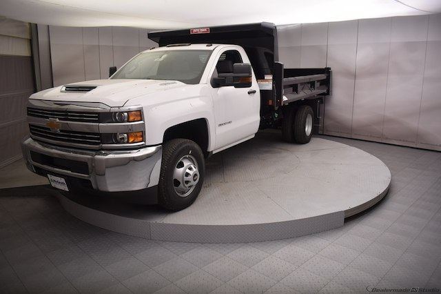 2018 Silverado 3500 Regular Cab DRW 4x4,  Dump Body #C180430 - photo 13