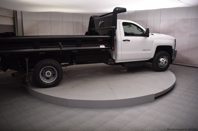 2018 Silverado 3500 Regular Cab DRW 4x4,  Dump Body #C180430 - photo 20