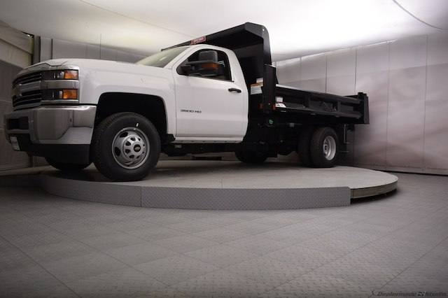 2018 Silverado 3500 Regular Cab DRW 4x4,  Dump Body #C180430 - photo 21