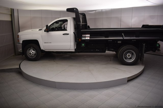2018 Silverado 3500 Regular Cab DRW 4x4,  Dump Body #C180430 - photo 22