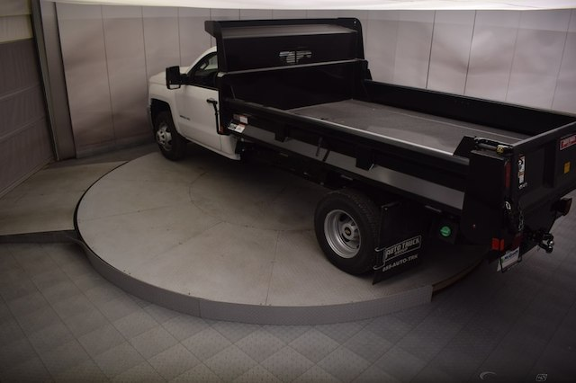 2018 Silverado 3500 Regular Cab DRW 4x4,  Dump Body #C180430 - photo 23