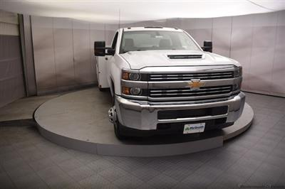 2018 Silverado 3500 Regular Cab DRW 4x4,  Reading SL Service Body #C180554 - photo 4