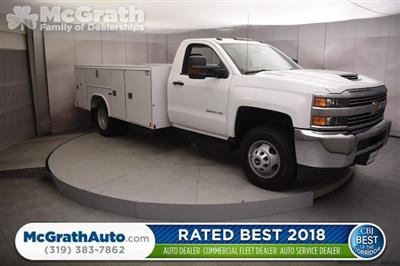 2018 Silverado 3500 Regular Cab DRW 4x4, Reading SL Service Body #C180554 - photo 1