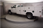 2018 Silverado 3500 Regular Cab DRW 4x4, Reading SL Service Body #C180554 - photo 27