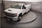 2018 Silverado 3500 Regular Cab DRW 4x4, Reading SL Service Body #C180554 - photo 32