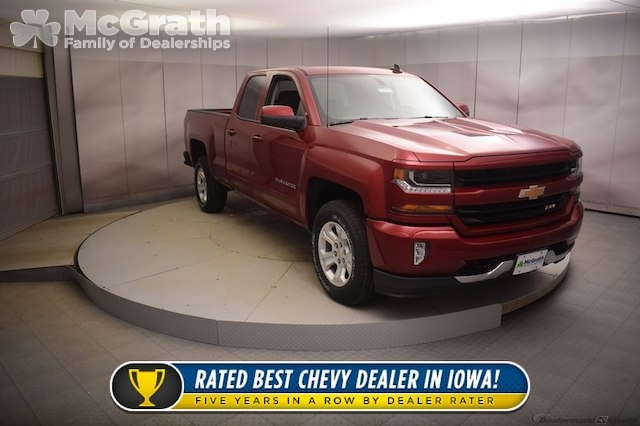 2018 Silverado 1500 Double Cab 4x4, Pickup #C180762 - photo 1