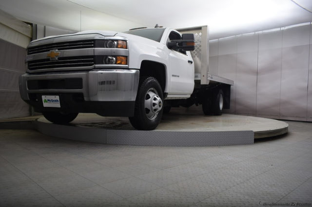 2018 Silverado 3500 Regular Cab DRW 4x4, Knapheide PGNB Gooseneck Platform Body #C180965 - photo 24