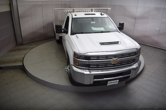 2018 Silverado 3500 Regular Cab DRW 4x4, Knapheide PGNB Gooseneck Platform Body #C180965 - photo 30