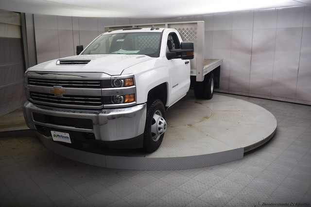 2018 Silverado 3500 Regular Cab DRW 4x4, Knapheide PGNB Gooseneck Platform Body #C180965 - photo 5
