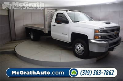 2018 Silverado 3500 Regular Cab DRW 4x4, Knapheide PGNB Gooseneck Platform Body #C180965 - photo 1