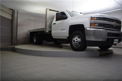 2018 Silverado 3500 Regular Cab DRW 4x4, Knapheide PGNB Gooseneck Platform Body #C180965 - photo 23