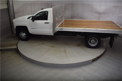 2018 Silverado 3500 Regular Cab DRW 4x4, Knapheide PGNB Gooseneck Platform Body #C180965 - photo 29