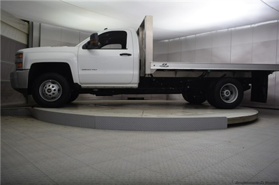 2018 Silverado 3500 Regular Cab DRW 4x4, Knapheide PGNB Gooseneck Platform Body #C180965 - photo 6