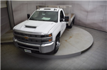 2018 Silverado 3500 Regular Cab DRW 4x4, Knapheide PGNB Gooseneck Platform Body #C180965 - photo 31
