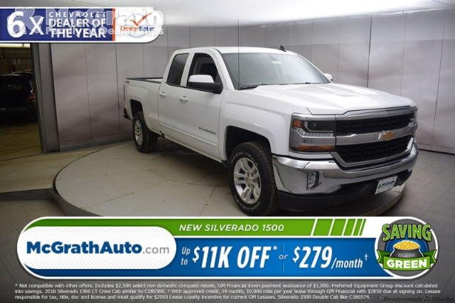 2018 Silverado 1500 Double Cab 4x4, Pickup #C181031 - photo 1