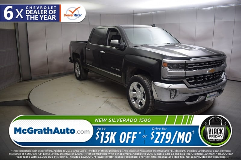 2018 Silverado 1500 Crew Cab 4x4,  Pickup #C181198 - photo 1