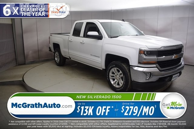 2018 Silverado 1500 Double Cab 4x4,  Pickup #C181233 - photo 1