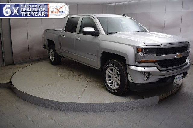 2018 Silverado 1500 Crew Cab 4x4,  Pickup #C181303 - photo 1