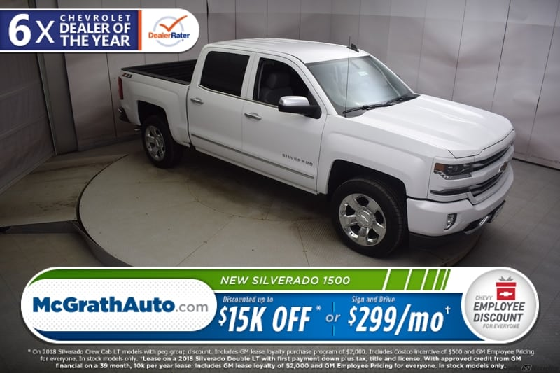 2018 Silverado 1500 Crew Cab 4x4,  Pickup #C181417 - photo 29