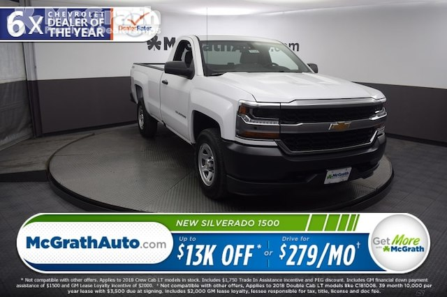 2018 Silverado 1500 Regular Cab 4x4,  Pickup #C181645 - photo 1