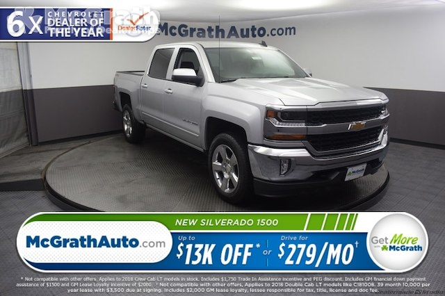 2018 Silverado 1500 Crew Cab 4x4,  Pickup #C181666 - photo 1