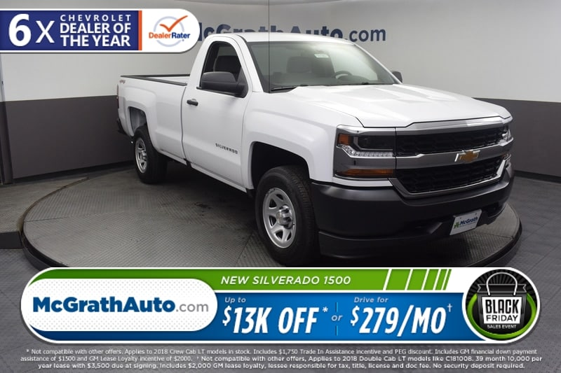 2018 Silverado 1500 Regular Cab 4x4,  Pickup #C181667 - photo 1