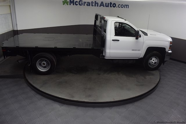 2018 Silverado 3500 Regular Cab DRW 4x4,  Knapheide Platform Body #C181740 - photo 26