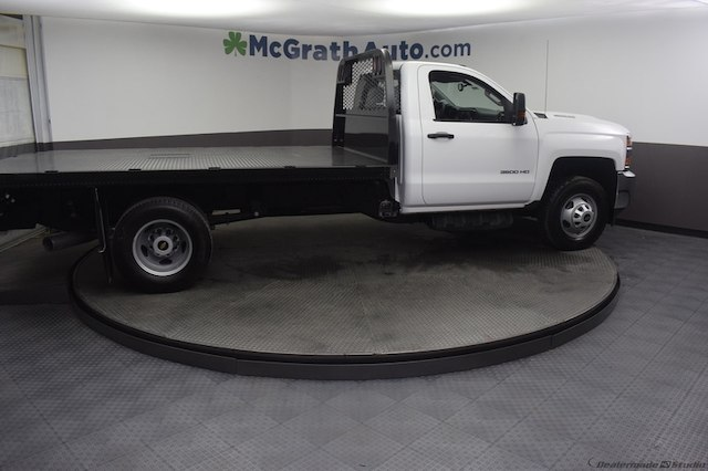 2018 Silverado 3500 Regular Cab DRW 4x4,  Knapheide Platform Body #C181740 - photo 27