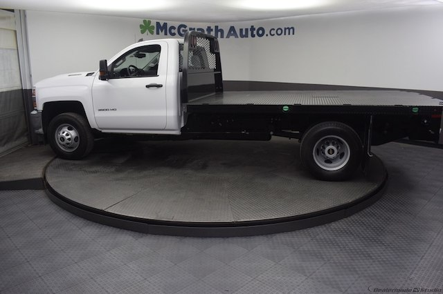 2018 Silverado 3500 Regular Cab DRW 4x4,  Knapheide Platform Body #C181740 - photo 29