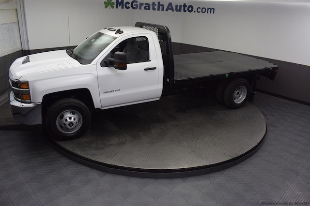2018 Silverado 3500 Regular Cab DRW 4x4,  Knapheide Platform Body #C181740 - photo 33