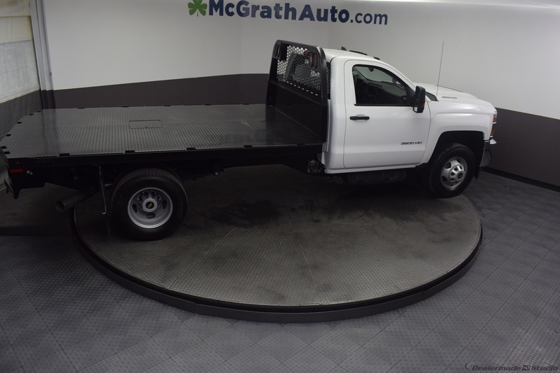 2018 Silverado 3500 Regular Cab DRW 4x4,  Knapheide PGNB Gooseneck Platform Body #C181740 - photo 23