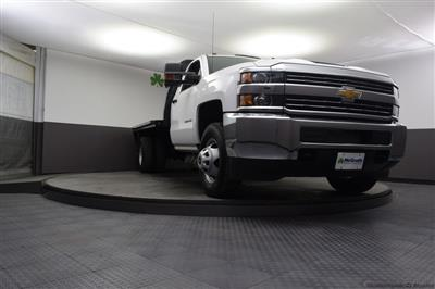 2018 Silverado 3500 Regular Cab DRW 4x4,  Knapheide PGNB Gooseneck Platform Body #C181740 - photo 31