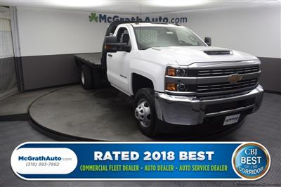 2018 Silverado 3500 Regular Cab DRW 4x4,  Knapheide PGNB Gooseneck Platform Body #C181740 - photo 1