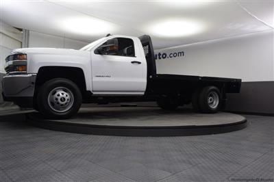 2018 Silverado 3500 Regular Cab DRW 4x4,  Knapheide PGNB Gooseneck Platform Body #C181740 - photo 5