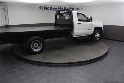 2018 Silverado 3500 Regular Cab DRW 4x4,  Knapheide PGNB Gooseneck Platform Body #C181740 - photo 22