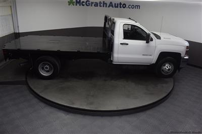 2018 Silverado 3500 Regular Cab DRW 4x4,  Knapheide PGNB Gooseneck Platform Body #C181740 - photo 28
